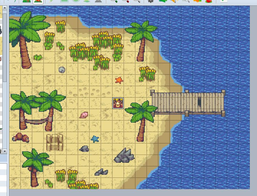Free Beach Tileset | Time Fantasy
